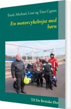 en motorcykelrejse med børn - bog