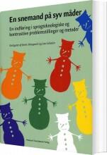 en snemand på syv måder - bog