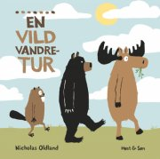 en vild vandretur - bog