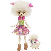 enchantimals dukke - lorna lamb med lam - Dukker