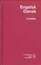 engelsk-dansk juridisk ordbog - bog