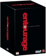 entourage box - den komplette serie - hbo - DVD