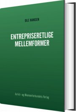 entrepriseretlige mellemformer - bog
