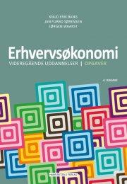 erhvervsøkonomi - videregående uddannelser - opgaver - bog