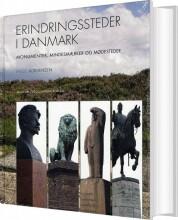 erindringssteder i danmark - bog