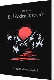 et blodrødt stænk - bog