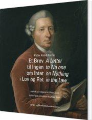 et brev til ingen om intet i lov og ret - bog