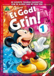 et godt grin vol. 1 - disney - DVD