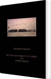 et tog kan skjule et andet og andre digte - bog