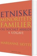 etniske minoritetsfamilier og socialt arbejde - bog