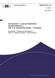 eurocode 1: last på bærende konstruktioner - del 1-4: generelle laster - vindlast - bog