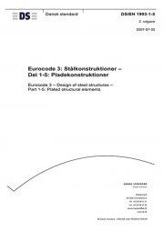 eurocode 3: stålkonstruktioner - del 1-5: pladekonstruktioner - bog