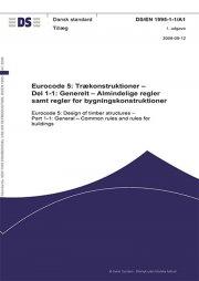 eurocode 5: tillæg til trækonstruktioner - del 1-1 - bog