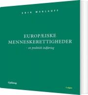 europæiske menneskerettigheder - bog