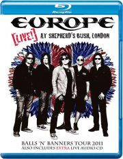 europe - live at shepards buch, london inkl. cd - Blu-Ray