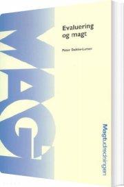 evaluering og magt - bog