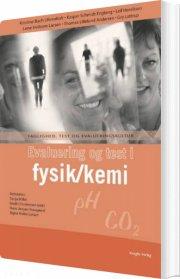 evaluering og test i fysik/kemi - bog