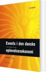 events i den danske oplevelsesøkonomi - den kollektive brusen - bog