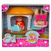 evi love burger shop sæt med dukke - Dukker