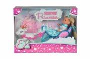 evi love sne prinsesse sæt med dukke - Dukker