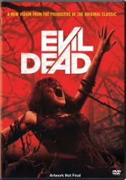 evil dead - remake 2013 - DVD