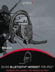 bluetooth headset ps3 - gioteck ex-03 - Konsoller Og Tilbehør
