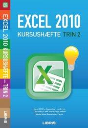 excel 2010 kursushæfte - trin 2 - bog