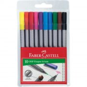 faber-castell tusser - 10 stk. grip finepens - Kreativitet