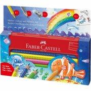 faber castell jumbo grip farveblyanter - i havet - Kreativitet
