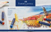 faber-castell - oil pastel crayons studio quality box of 36 (127036) - Kreativitet