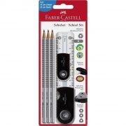 faber castell pencil set / blyantsæt - sort - Skole