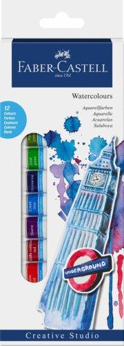 faber-castell start sæt - 12 vandfarver (169503) - Kreativitet
