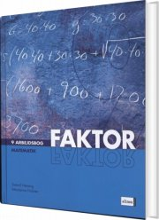 faktor 9, arbejdsbog, 3.udg - bog