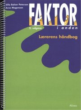 faktor i anden, lærerens håndbog, 2.udg - bog