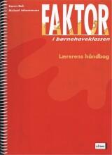 faktor i børnehaveklassen, lærerens bog - bog