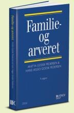 familie- og arveret - bog
