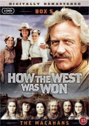 how the west was won / the macahans - boks 5 - DVD