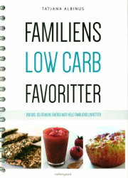 familiens low carb favoritter - bog