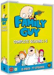 family guy sæson 1-5 - DVD