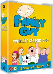 family guy - sæson 6-10 - DVD