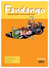 fandango. bogstavkort med alfabetrim - bog