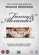 fanny og alexander tv-serie udgaven + ekstra materiale - DVD