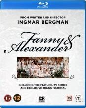 fanny og alexander - tv-serie udgaven + ekstra materiale - Blu-Ray