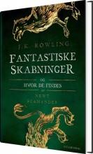 fantastiske skabninger og hvor de findes - bog