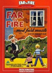 far til fire med fuld musik - nyrestaureret - DVD