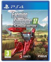 farming simulator 17 / 2017 - platinum edition - PS4