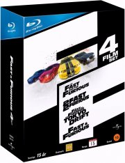 fast and furious 1-4 box set - Blu-Ray