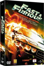 fast and furious 1-5 box - DVD