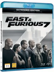 fast and furious 7 - Blu-Ray