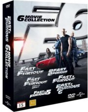 fast and furious 1-6 - Blu-Ray